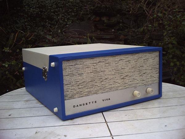 Restored 1968 Dansette Viva record player on eBay