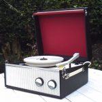 Restored 1968 Dansette Popular Mk II record player on eBay