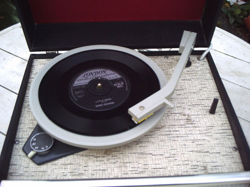 Restored 1968 Dansette Popular Mk II record player on eBay
