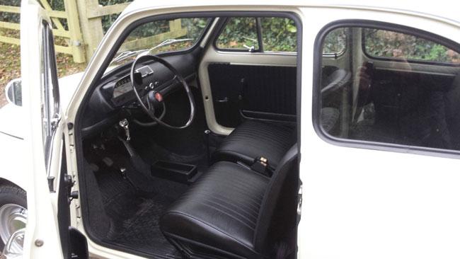 Low mileage 1970 classic Fiat 500L on eBay
