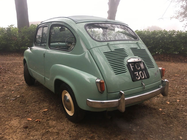 1950s Fiat 600 Trasformabile car on eBay