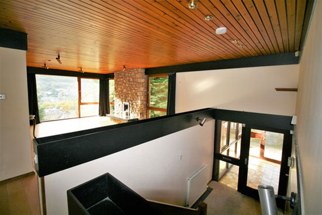 Retro house for sale: 1970s modernist property in Galashiels in the Scottish borders