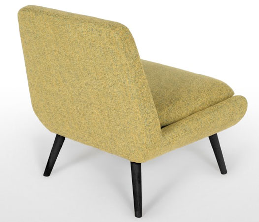 Jonny retro-style accent chair range at Made