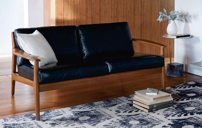 Mathias Mid-Century Loveseat at West Elm