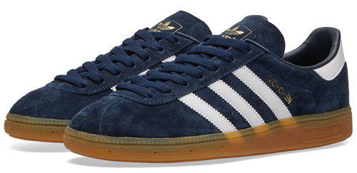 1970s Adidas Munchen trainers return in three colours