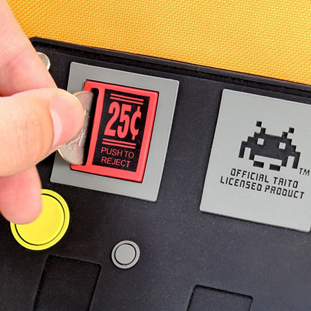 Space Invaders Arcade Cabinet Backpack at ThinkGeek