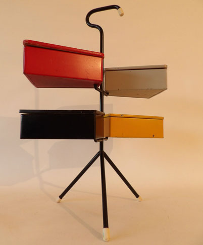 1950s Joos Teders-designed sewing stand on eBay