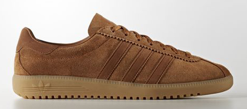 1970s Adidas Bermuda trainers land in an all-brown finish