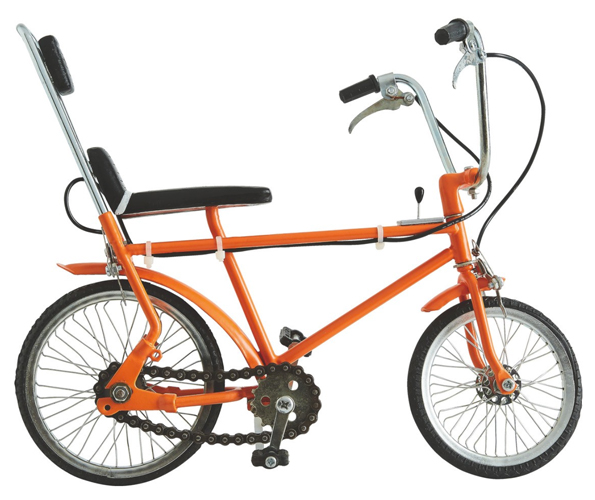 Decorative Chopper bike at Habitat