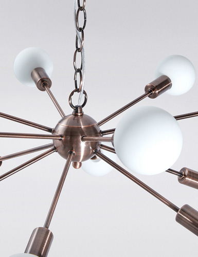 Dexter retro Sputnik-style ceiling light at Marks & Spencer