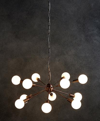 Dexter retro Sputnik-style ceiling light at Marks & Spencer