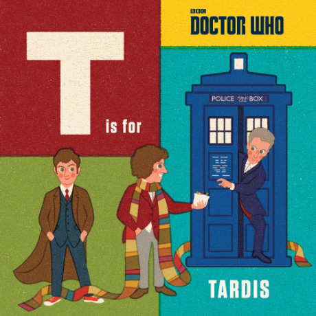 Doctor Who: T is for TARDIS retro alphabet book for kids (BBC)