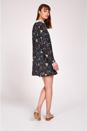 1960s-style Louche Hansa floral dress