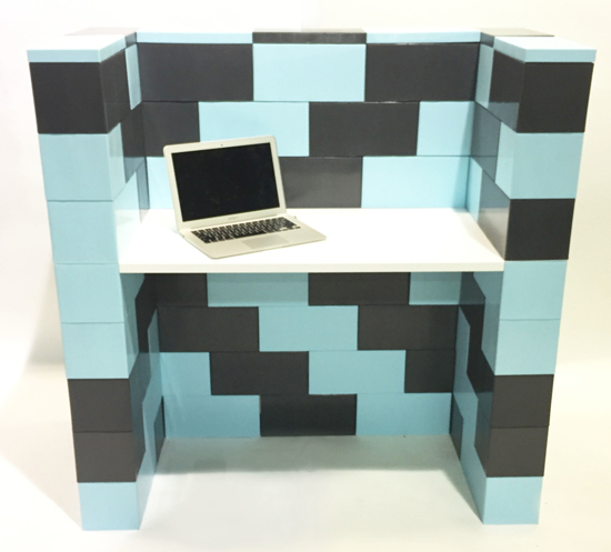 EverBlock - create Lego-style walls in your home