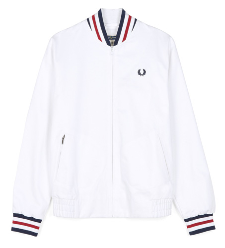 Fred Perry Reissues Made in England tennis bomber jacket