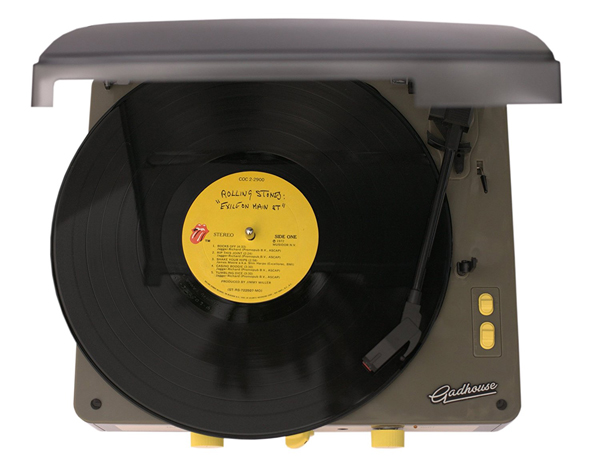 Gadhouse Brad vintage-style record player with Bluetooth