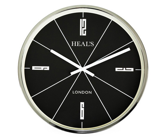 1960s-style Retro Clock at Heal's