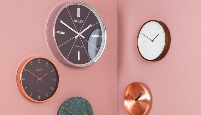 1960s-style Retro Clock at Heal's
