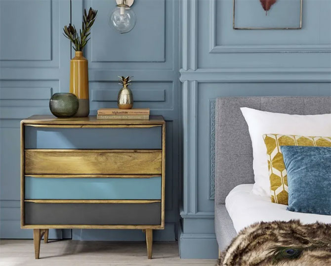 Janeiro midcentury modern furniture at Maisons Du Monde