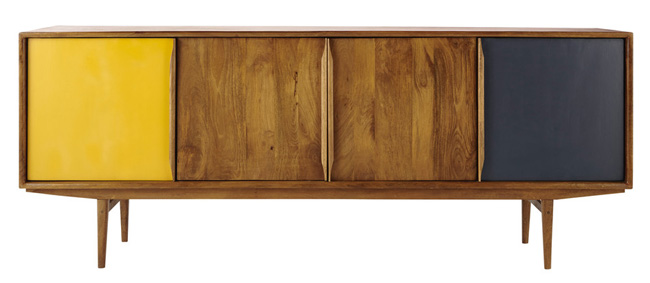 Janeiro vintage-style sideboard at Maisons Du Monde