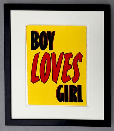 Retro love-themed prints by John Patrick Reynolds