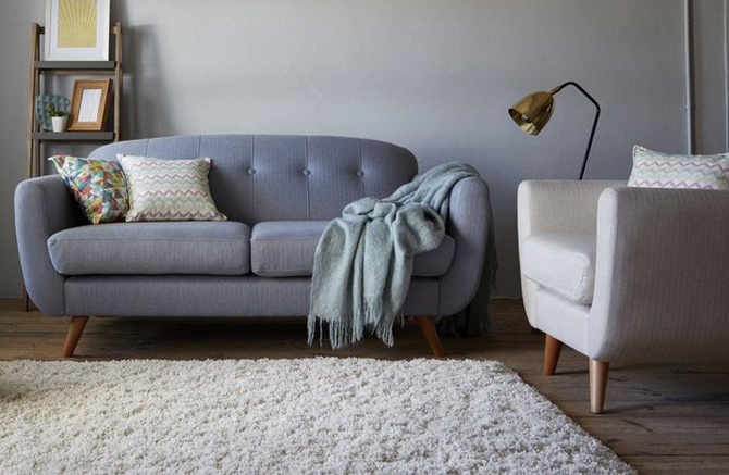Laze 1960s Style Seating Range At Dfs