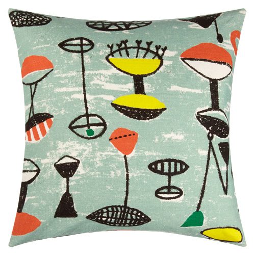 1950s Lucienne Day cushions and textiles return to John Lewis
