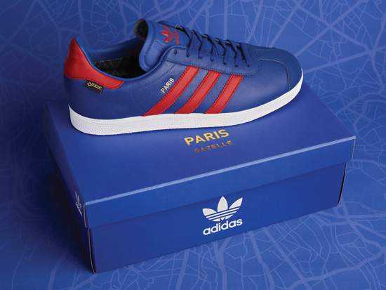 Adidas Originals Gazelle GTX Paris trainers are a Size? exclusive
