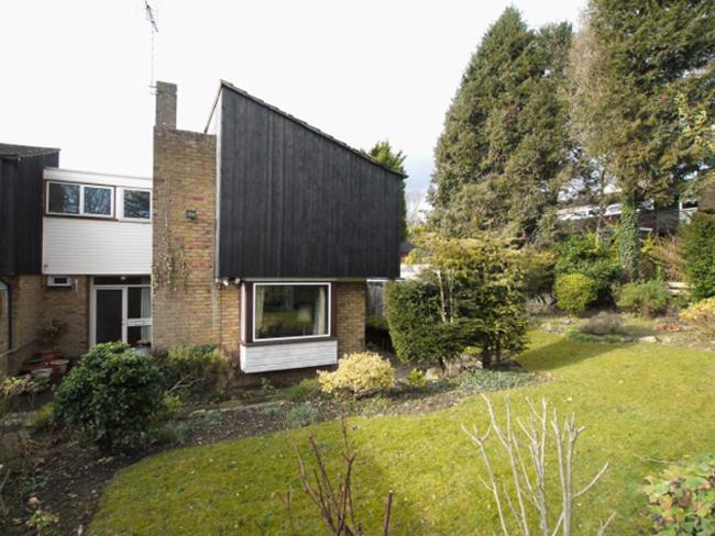 1960s Fry, Drew & Partners-designed modernist property in Kemsing, near Sevenoaks, Kent