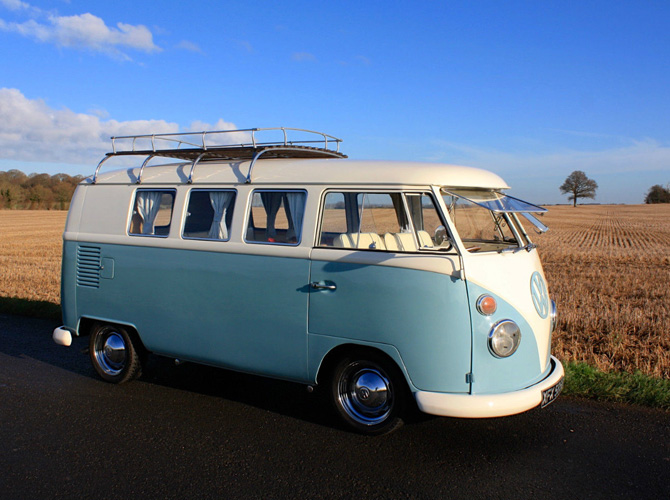 1964 Volkswagen split screen camper van on eBay