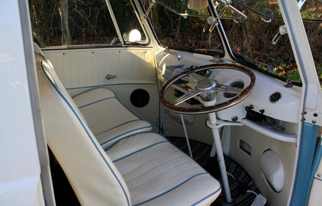 1964 Volkswagen split screen camper van on eBay