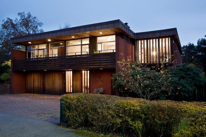 Retro Retreat: 1960s modernist property in Stockholm, Sweden on Airbnb