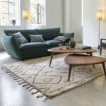 Theoleine midcentury walnut coffee table at La Redoute