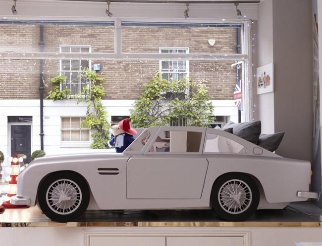 James Bond style: Vintage Car Bed for kids at Dragons Of Walton Street