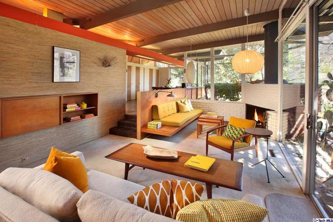 Retro house for sale: 1950s Kemper Nomland-designed midcentury property in Altadena, California, USA