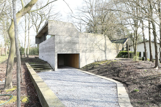 Retro retreat: 1970s Julian Lampens-designed brutalist property in Sint-Martens-Latem, Belgium