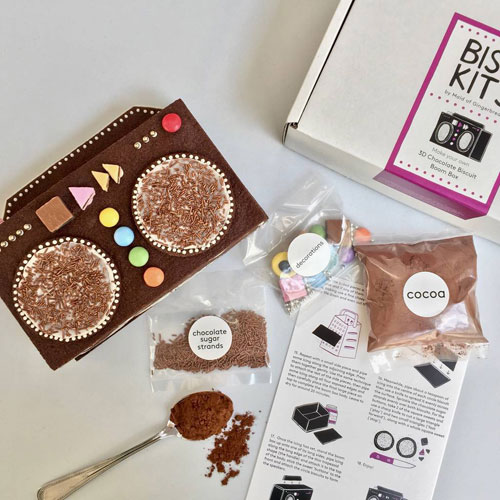 Make Your Own Chocolate Biscuit Boom Box Kit