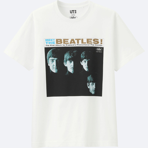 Capitol Records 75 anniversary t-shirts at Uniqlo