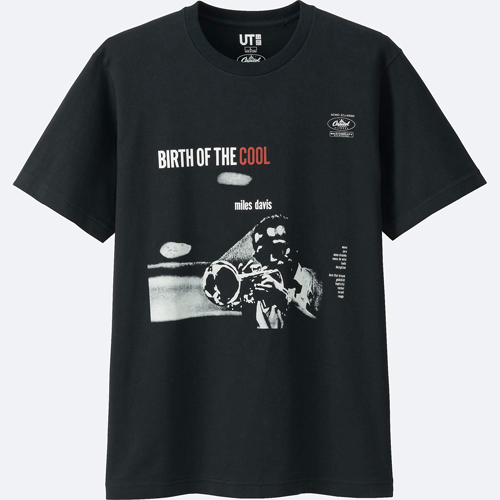 Capitol Records 75 anniversary t-shirts at Uniqlo