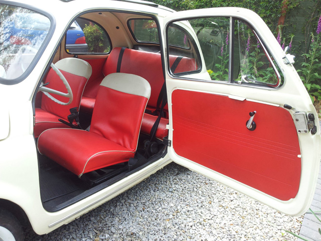Fully restored 1964 Fiat 500D on eBay