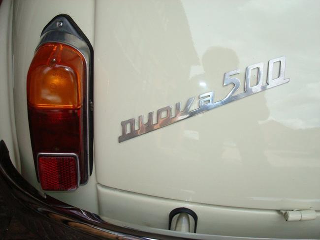 Fully restored 1964 Fiat 500D on eBay