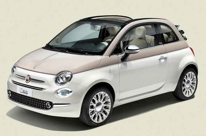 Limited edition Fiat 500 60th edition