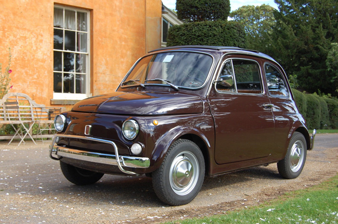 Fully restored Fiat 500L on eBay
