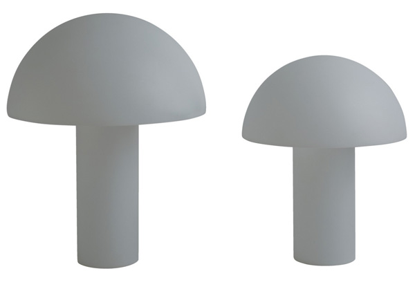 1970s-style Armand table lamps at Habitat