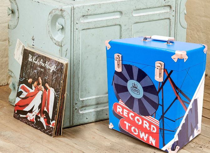 Limited edition: Horace Panter-designed GPO 12-inch vinyl case