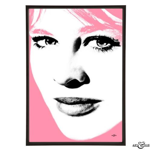 Julie Christie pop art collection by Art & Hue