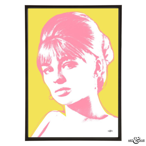 Julie Christie pop art collection by Art & Hue