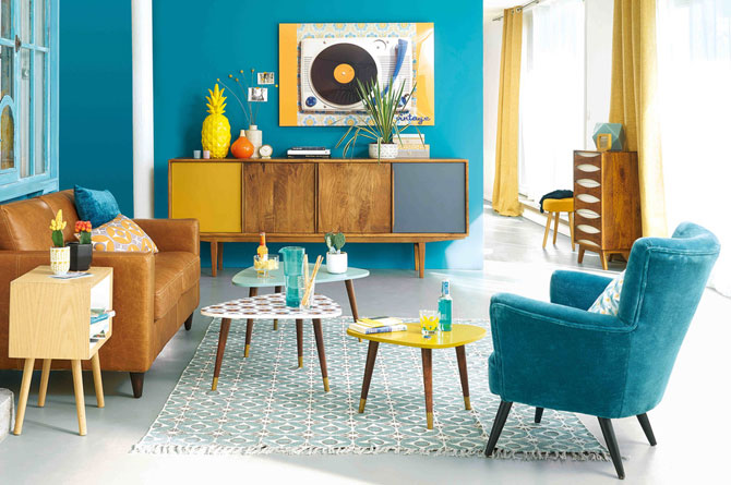 Lucette retro nesting tables at Maisons Du Monde