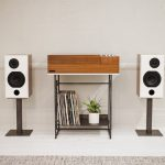 Wrensilva Loft retro-style record player and audio system