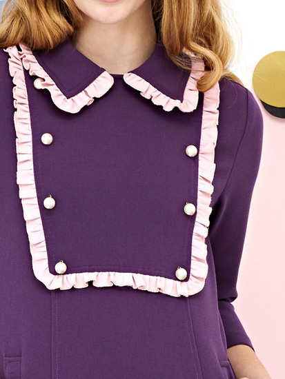 1960s-inspired Macaron Oxford Dress at Sister Jane